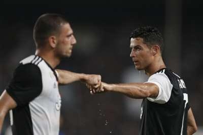 Merih Demiral Cristiano Ronaldo Juventus Inter International Champions Cup 07/24/19