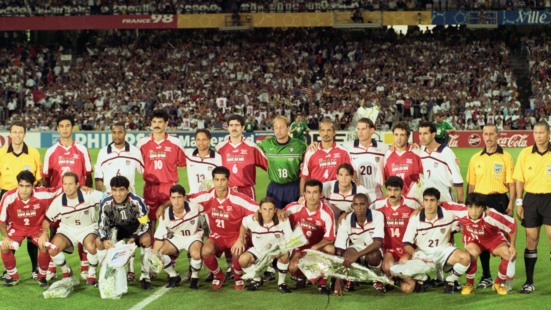 USA Iran 1998 World Cup