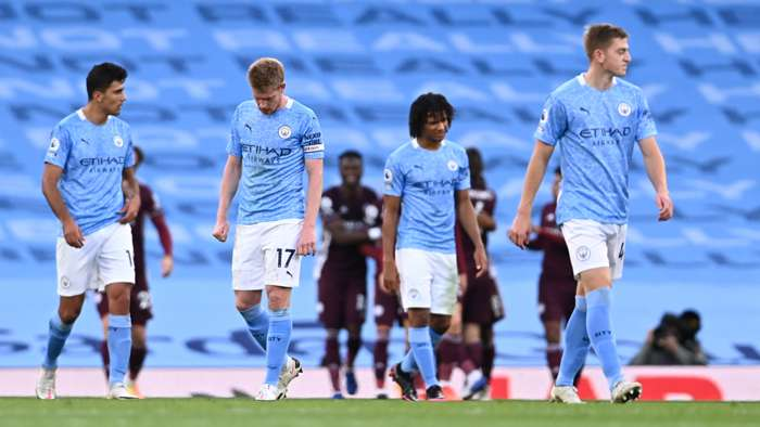 Manchester City Leicester City 2020-21