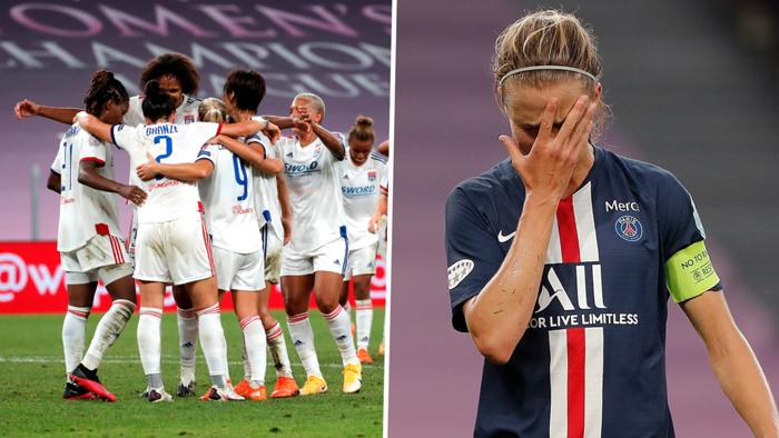Lyon PSG women split
