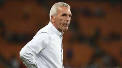 Ernst Middendorp, coach of Kaizer Chiefs, September 2019