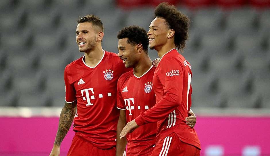 Lucas Hernandez Serge Gnabry Lery Sane Bayern Munchen 2020