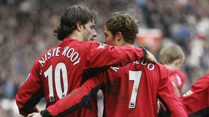 Cristiano Ronaldo Ruud van Nistelrooy Manchester United