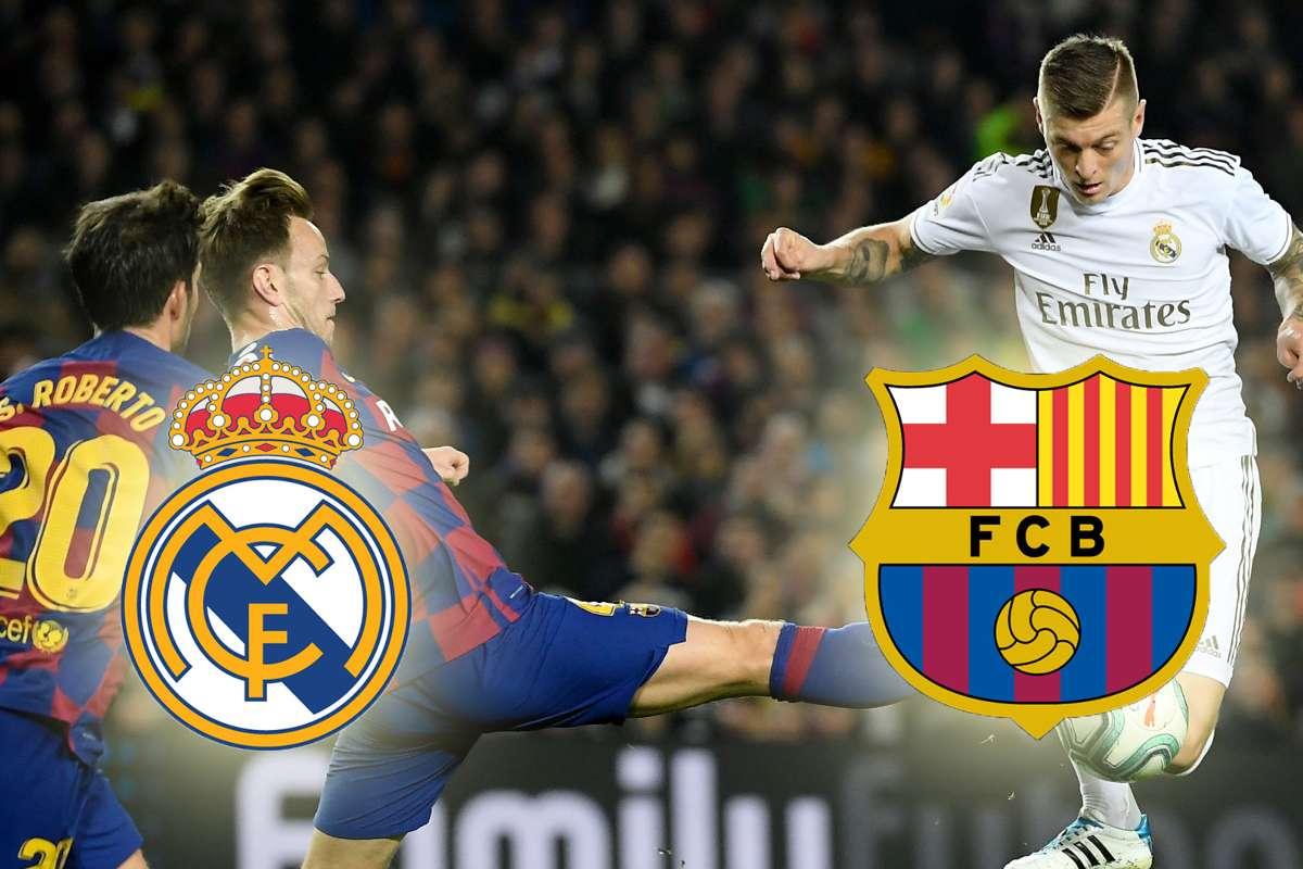 Real Madrid Vs Barcelona El Classico Di Jam Tayang Utama Indonesia Goal Com