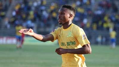 Mamelodi Sundowns v SuperSport United - August 2019 Themba Zwane