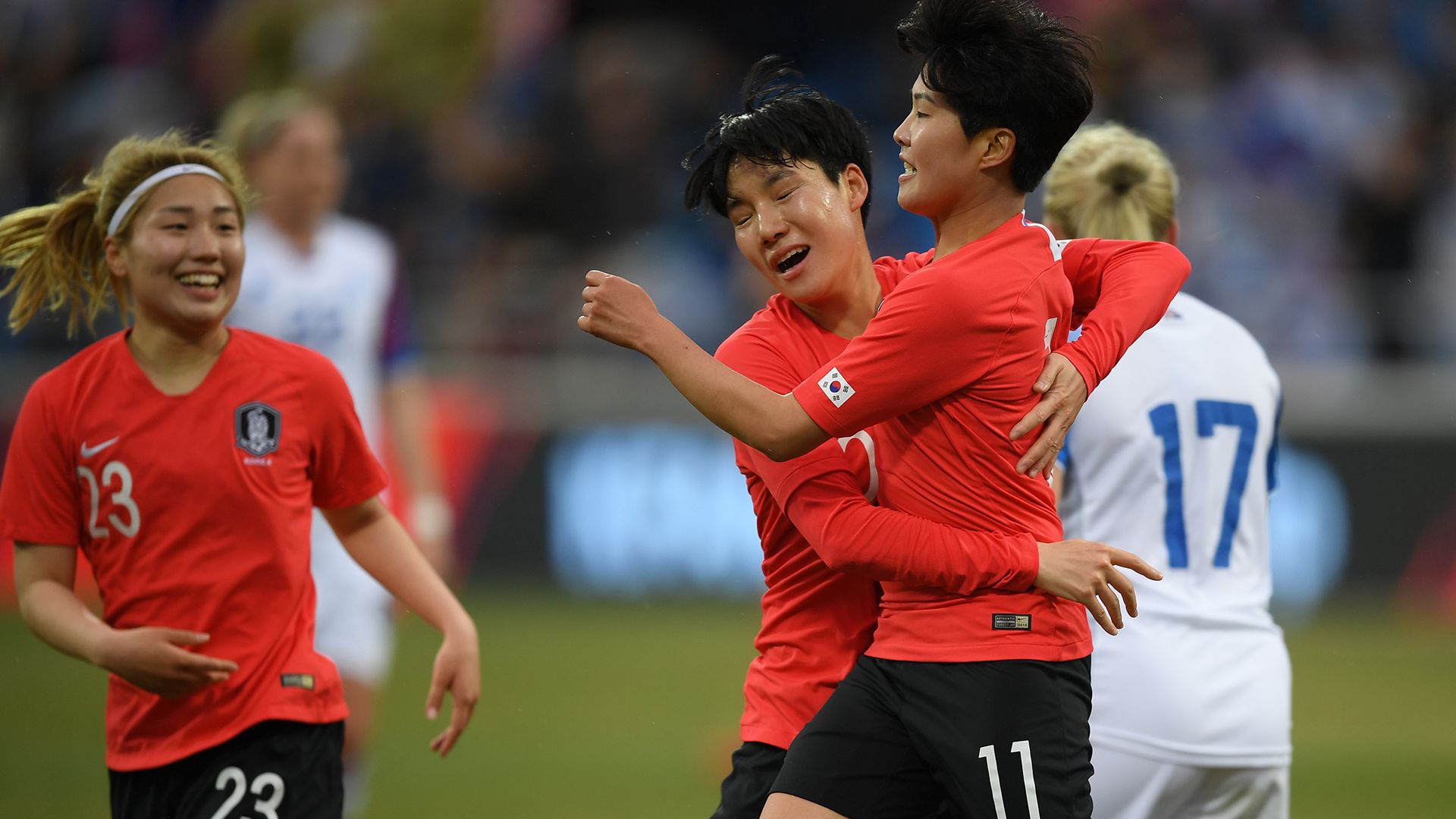 South Korea women's team 2019