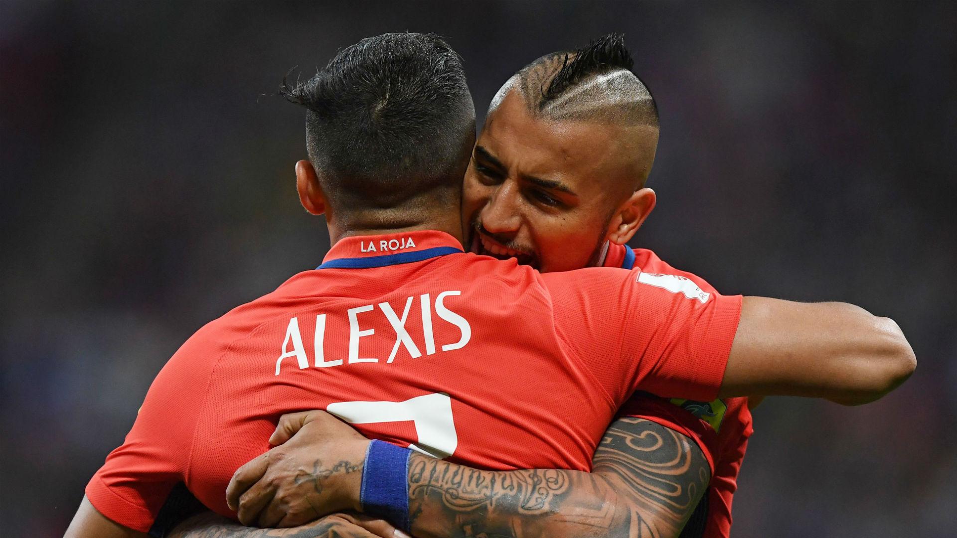 Alexis Sanchez Arturo Vidal Chile