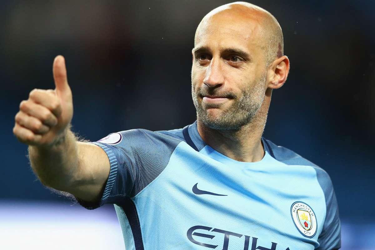 Berita Liga Champions - Pablo Zabaleta Berharap Manchester City Menang  Lawan Real Madrid   Goal.com