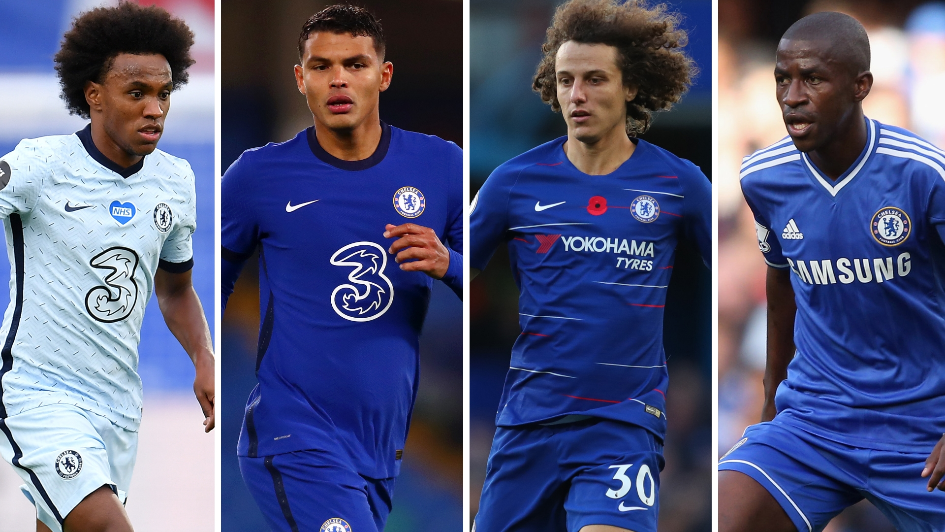Thiago Silva out to emulate Luiz, Willian & Ramires as Chelsea's latest Brazilian star