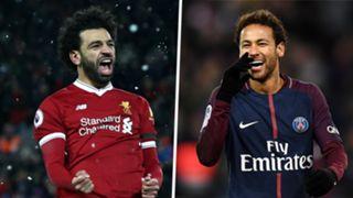 Mohamed Salah Neymar Liverpool PSG