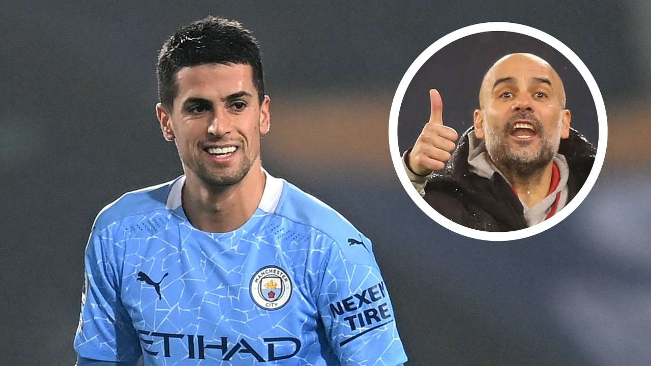 Cancelo Guardiola Manchester City 2021
