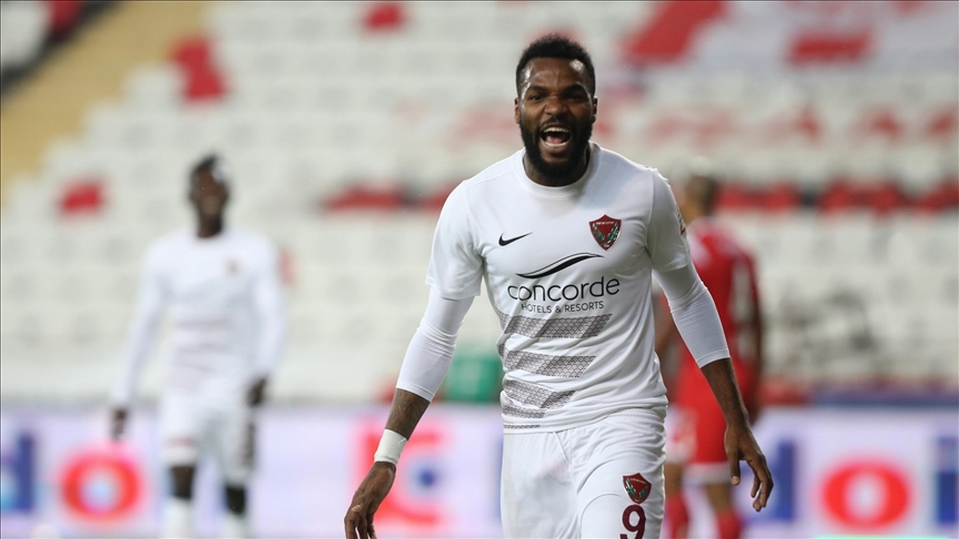 Boupendza scores, Munir sees red in Hatayspor's loss to Sio's Genclerbirligi