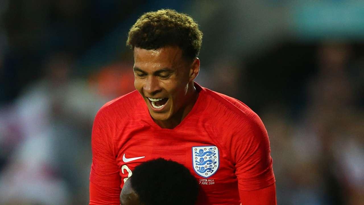 Dele Alli England 2018