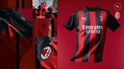 AC Milan home kit 2020/21
