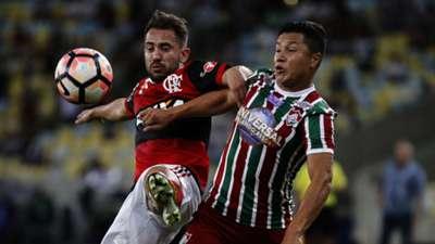 Richard Everton Ribeiro Flamengo Fluminense Copa Sudamericana 01112017