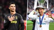 Cristiano Ronaldo Juventus Real Madrid split
