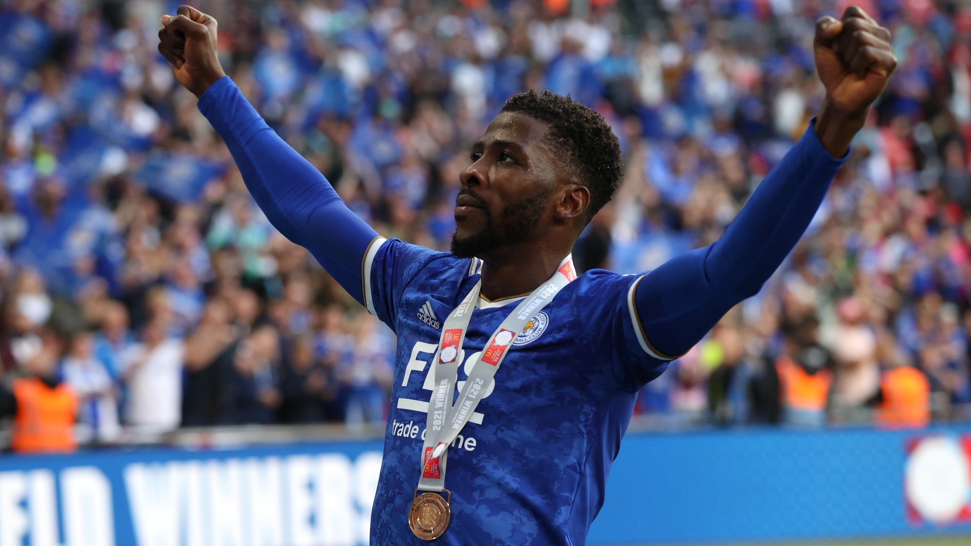 'He caught me' - Iheanacho defends Community Shield penalty call after leading Leicester to Man City win