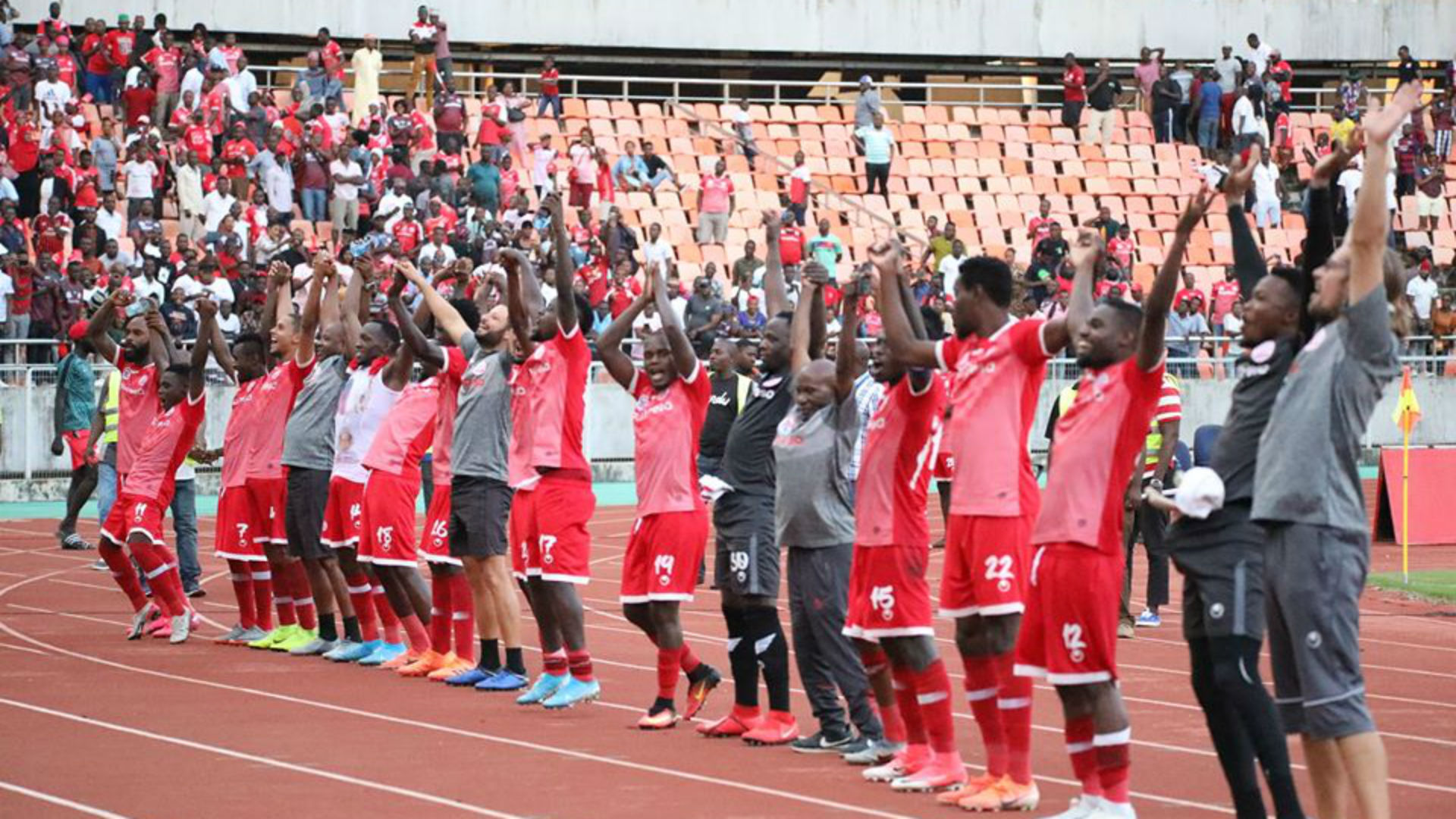 Vandenbroeck was not impressed with how Simba SC played against Alliance FC