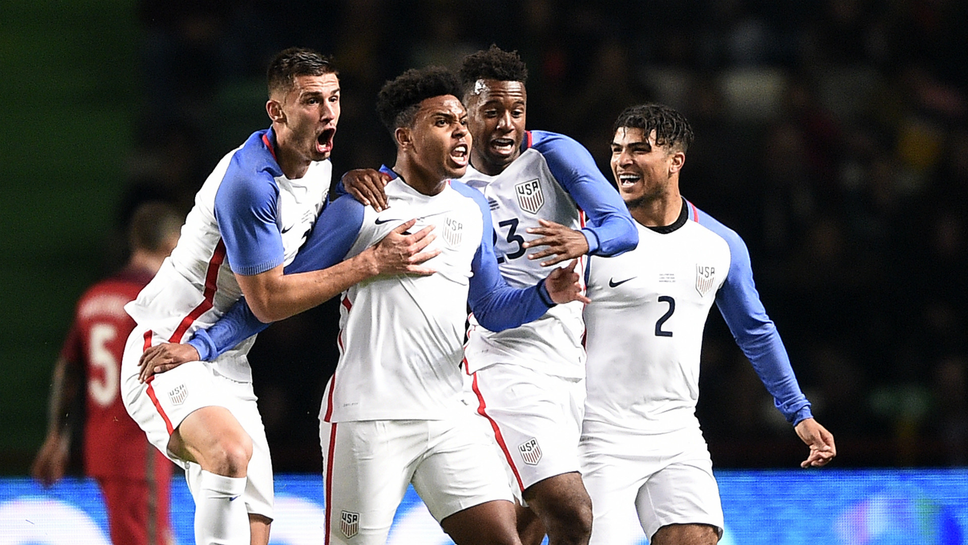 Weston McKennie Matt Miazga USA Portugal 11142017