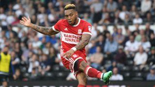 Britt Assombalonga Middlesbrough 2017-18