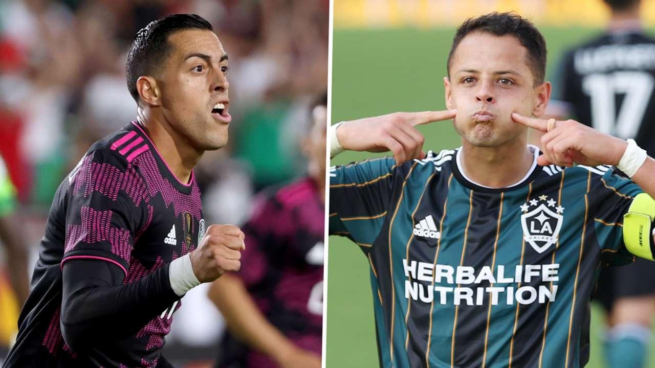 Rogelio Funes Mori Javier Hernandez Mexico LA Galaxy GFX