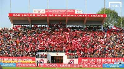 CĐV Hải Phòng V.League 2017