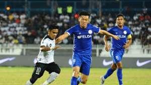 Masaki Watanabe, Terengganu FC v Felda United, Malaysia Super League, 19 Apr 2019