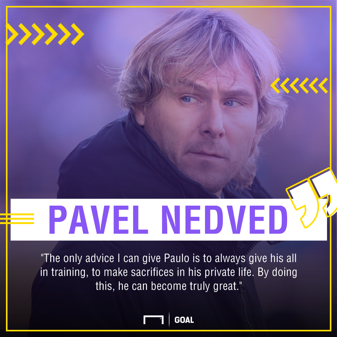 Pavel Nedved Paulo Dybala PS