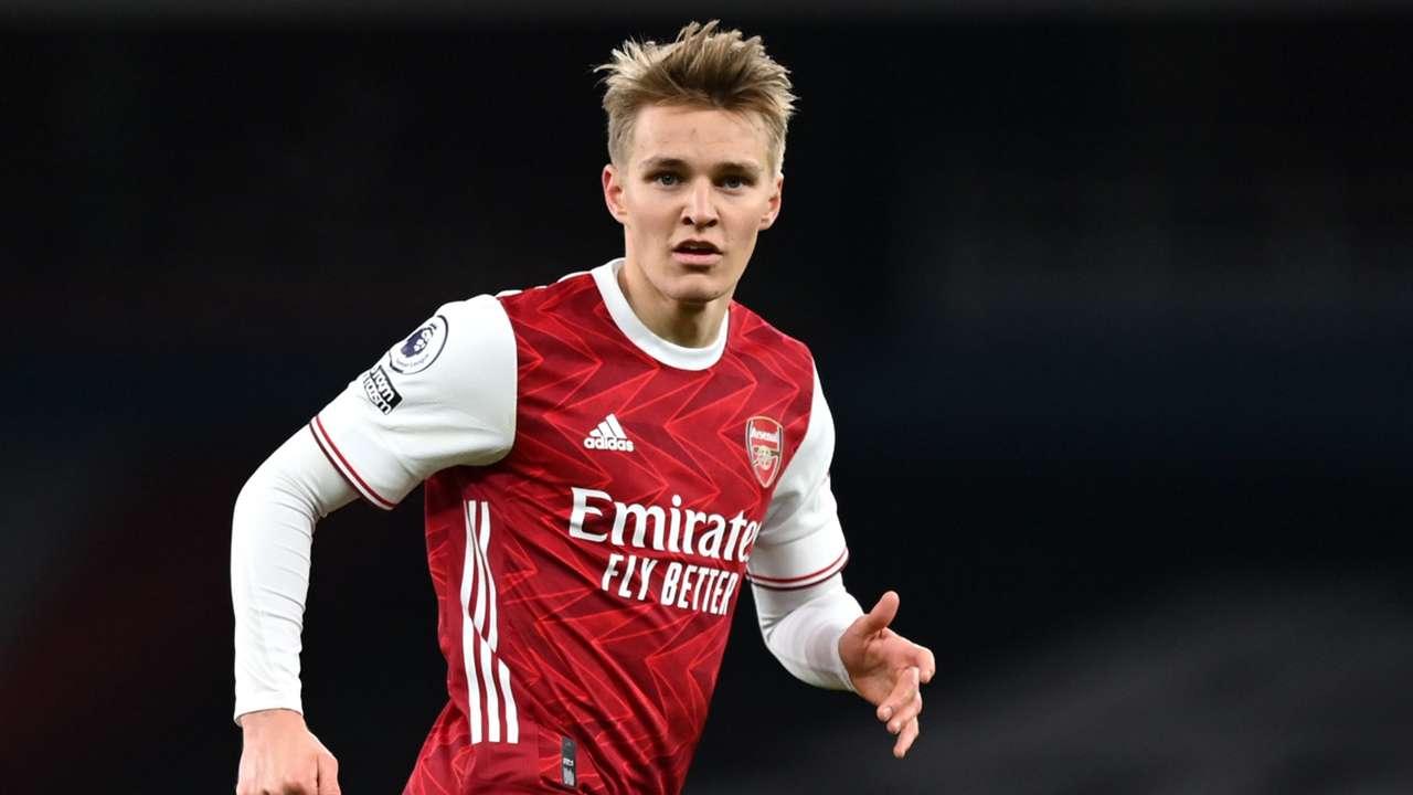 Martin Odegaard Arsenal 2020-21