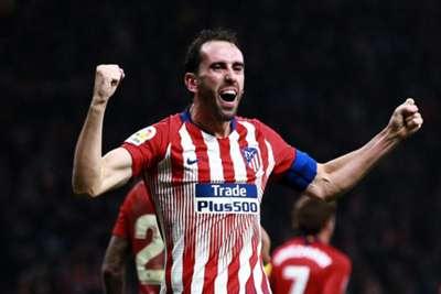 Godin Atletico Madrid Athletic Club LaLiga