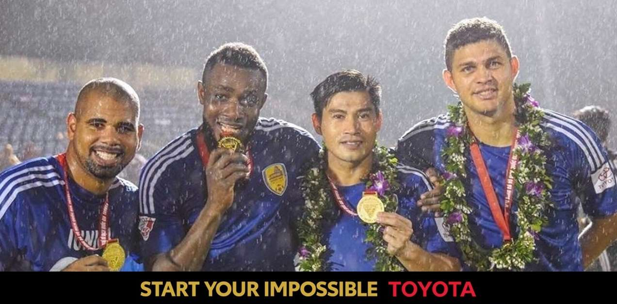 Quang Nam won V.League 2017 title (Toyota Only)