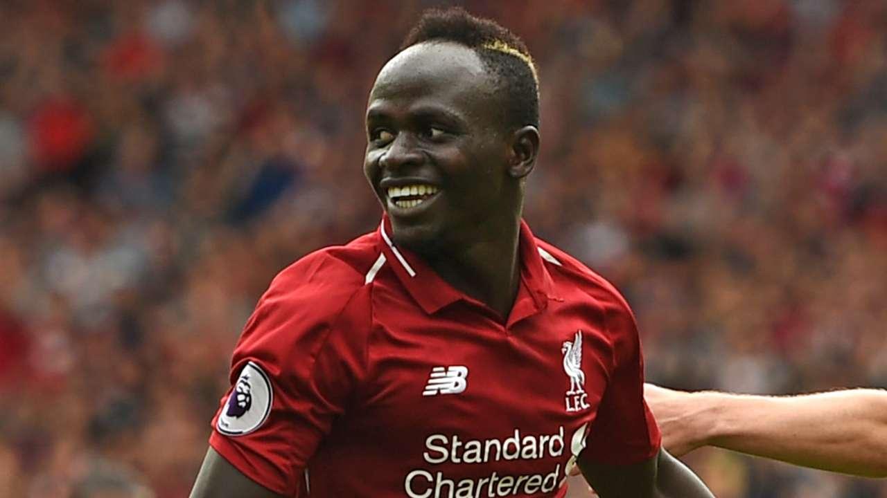 Sadio Mane Liverpool 2018-19