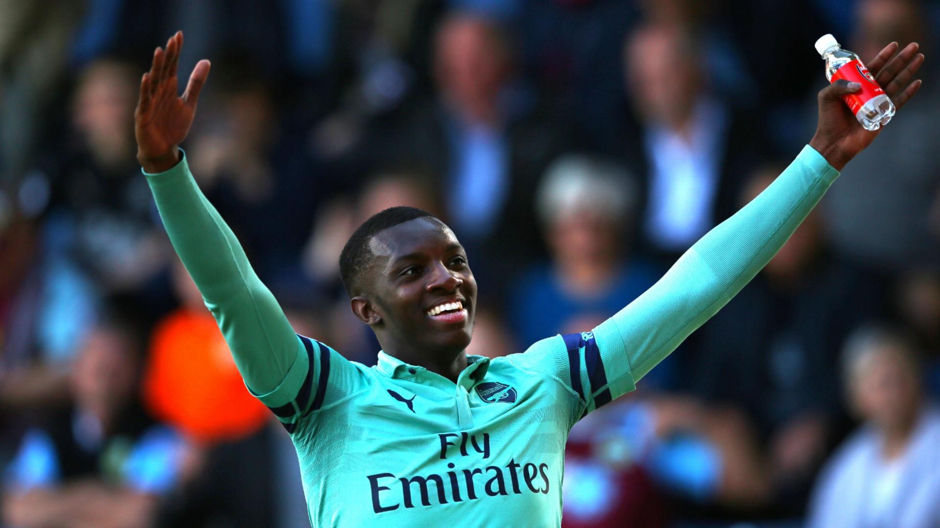 Arsenal boss Arteta impressed with Nketiah's development
