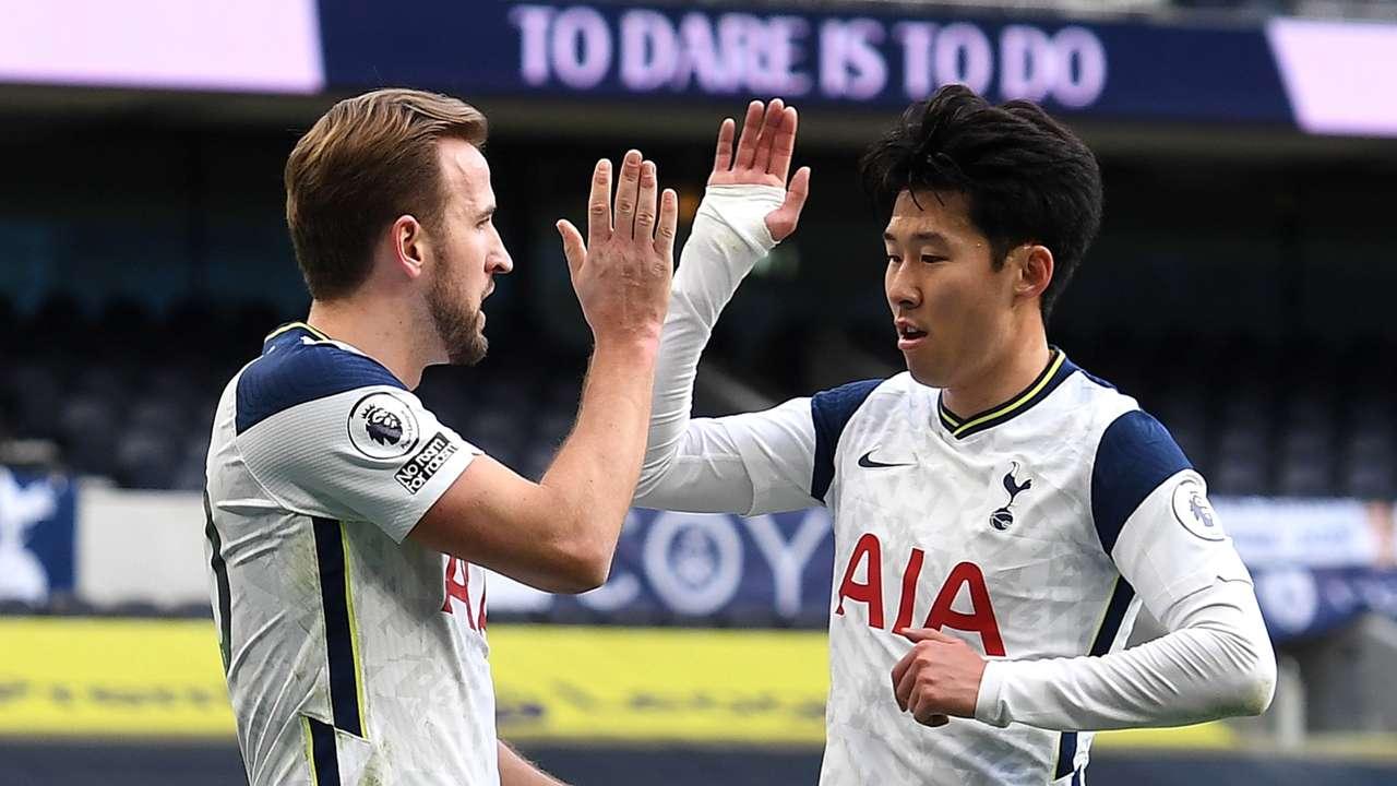 Harry Kane, Heung-min Son, Tottenham, Premier League 2020-21