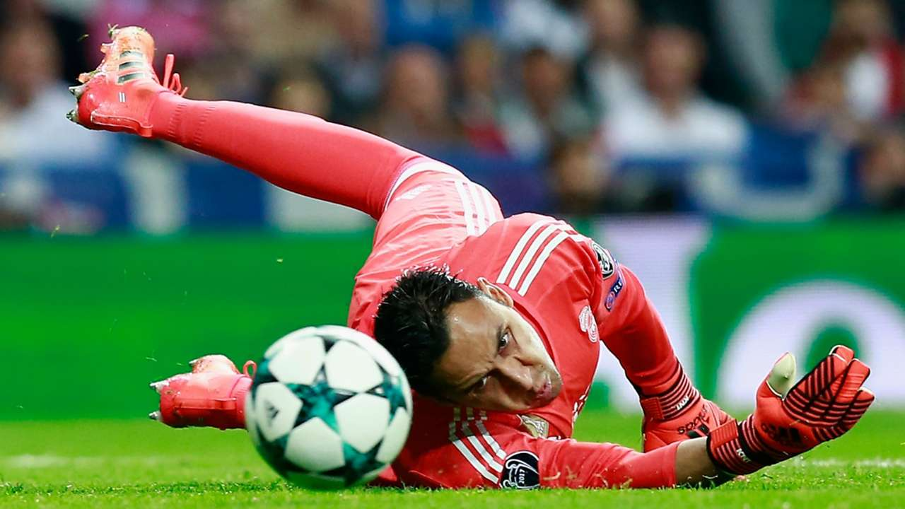 KEYLOR NAVAS REAL MADRID TOTTENHAM CHAMPIONS LEAGUE