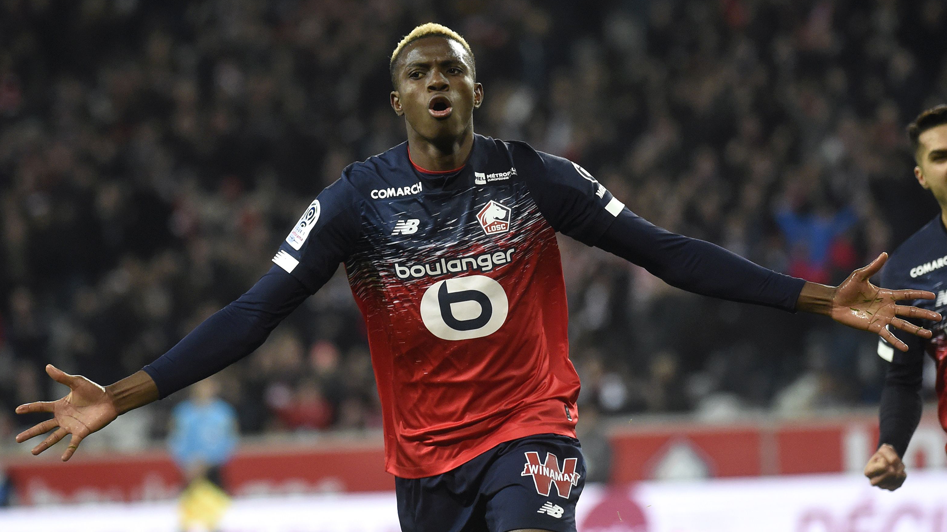 Lille's Osimhen dedicates best Ligue 1 African player award to late father