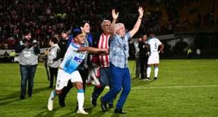 Julio Comesaña Junior campeón Liga Águila 2019-I