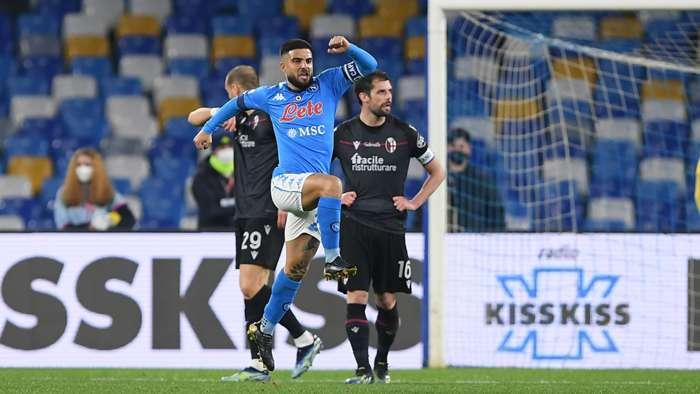 Lorenzo Insigne Napoli Bologna Serie A