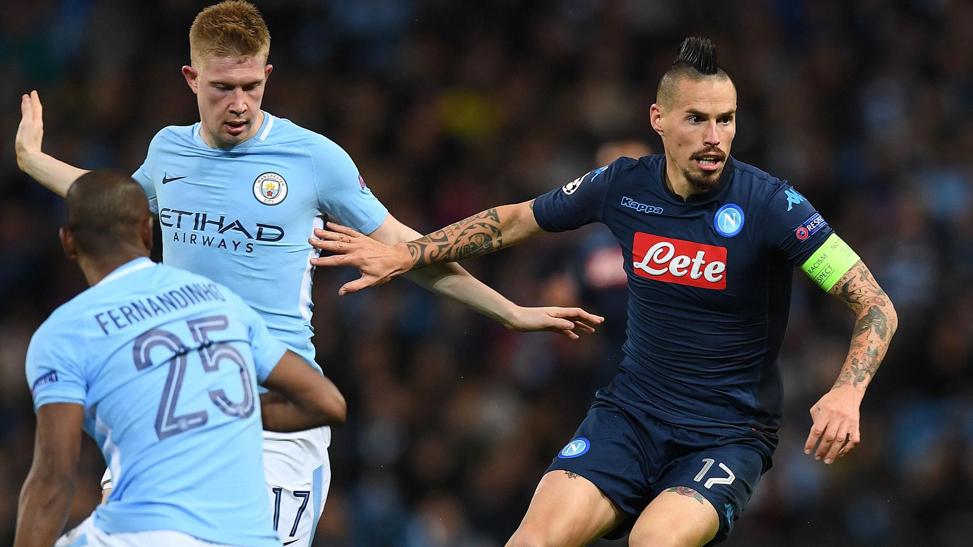 Marek Hamsik Manchester City Napoli Champions League