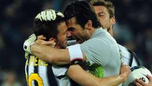 Alessandro Del Piero Gigi Buffon Juventus