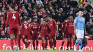 Liverpool celebrate vs Man City 2019-20