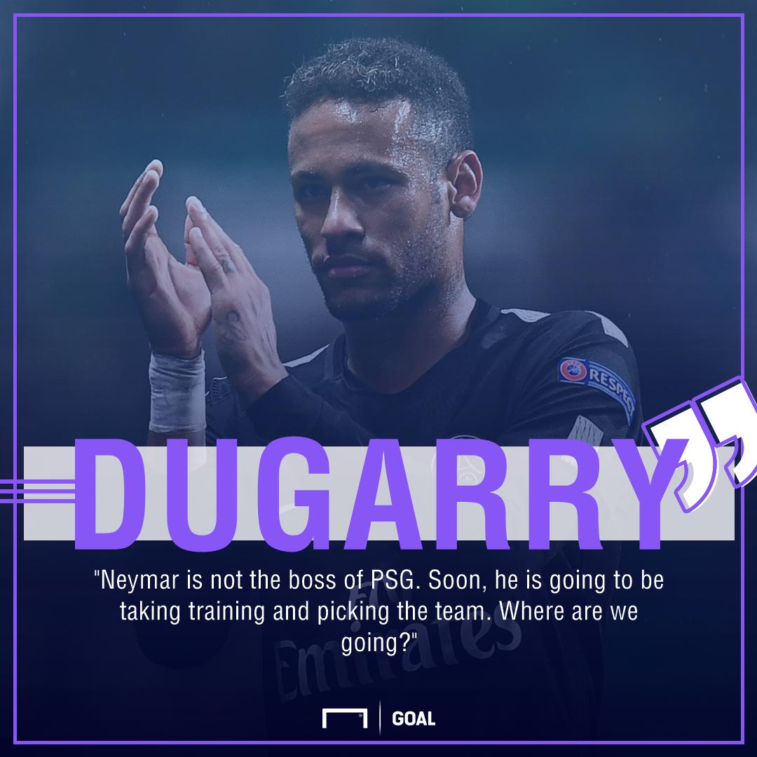 Christophe Dugarry Neymar PSG boss