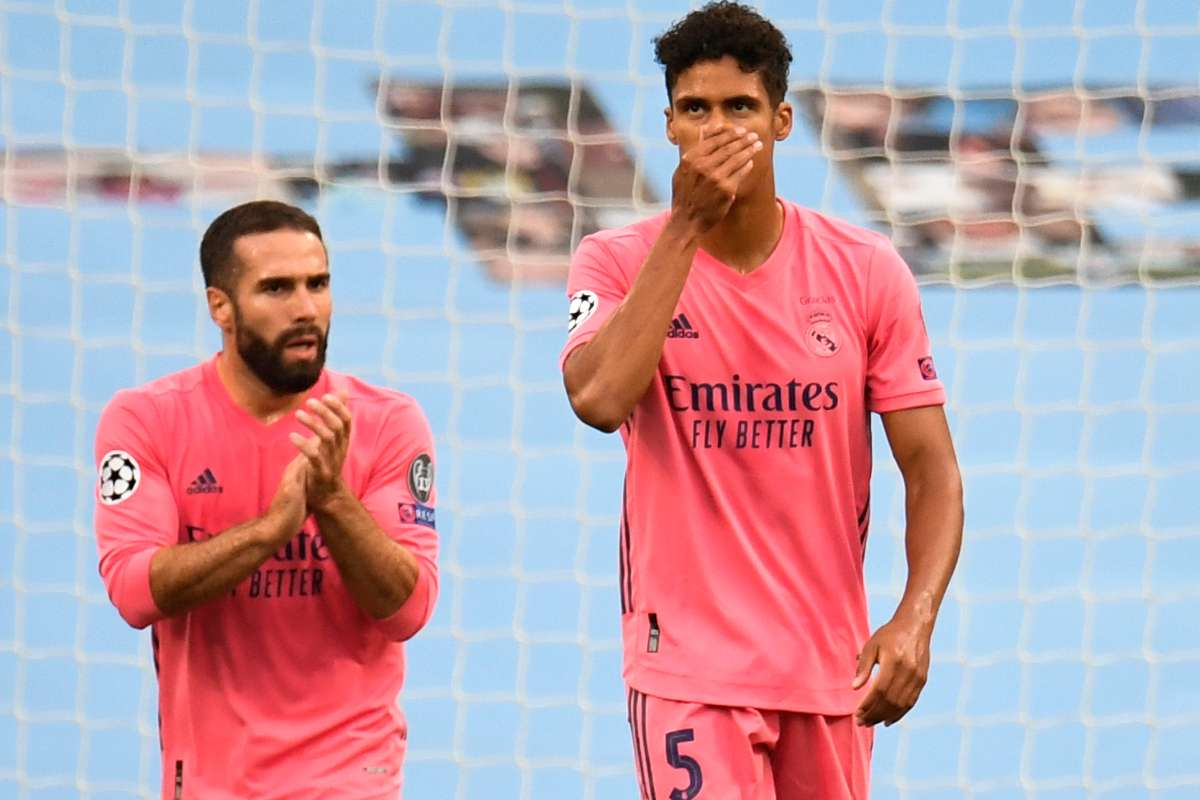 Varane admits to difficult days for Real Madrid after Champions League  horror show against Man City   Goal.com