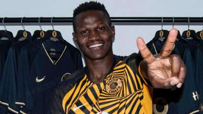 Kaizer Chiefs player Anthony Akumu.