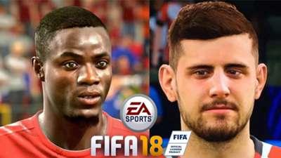 Best faces FIFA 18