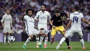 Yannick Carrasco Real Madrid Atletico Madrid Champions League