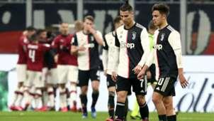 Cristiano Ronaldo Paulo Dybala Milan Juventus