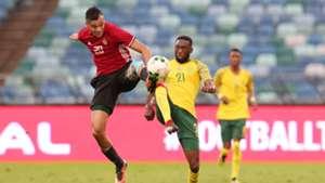 Buhle Mkhwanazi Bafana Bafana v Libya, September 2018