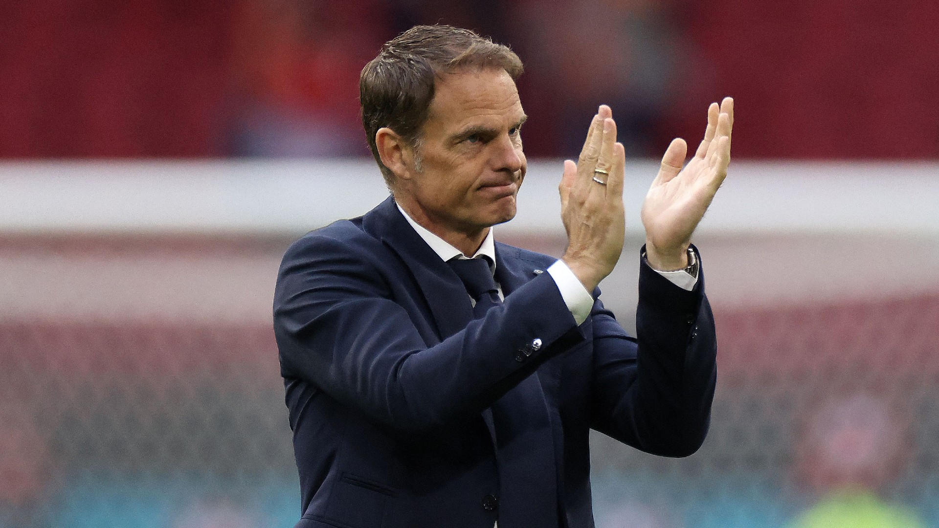 De Boer steps down as Netherlands head coach following disappointing Euro 2020 campaign