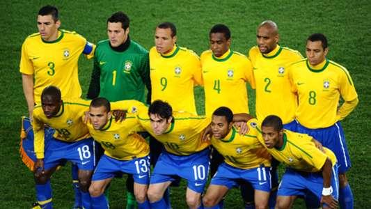 Por Onde Andam Os Jogadores Do Brasil Na Copa Do Mundo De 2010 Goal Com
